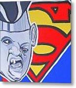 Supersloth Metal Print by Gary Niles