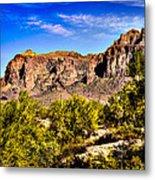Superstition Mountain Arizona Metal Print