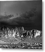 Superstition Mountain Metal Print by Maxwell Amaro