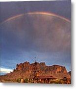 Superstition Rainbow  Metal Print