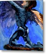 Support Metal Print by Beverley Harper Tinsley