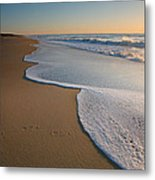 Surf And Sand Metal Print by Steven Ainsworth