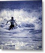 Surf At Summer Metal Print