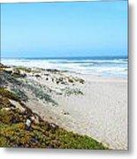 Surf Beach Lompoc California 2 Metal Print