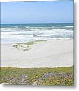 Surf Beach Lompoc California 4 Metal Print