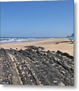 Surf Beach Portugal Metal Print