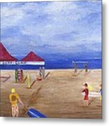 Surf Camp Metal Print