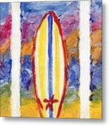 Surfboards 1 Metal Print