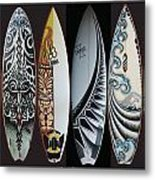 Surfboards Art Metal Print