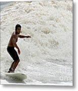 Surfer 0803b-2 Metal Print