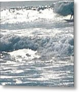 Surfer Metal Print by Bobbi Bennett