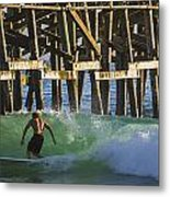 Surfer Dude 2 Metal Print
