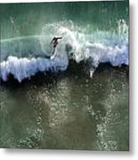 Surfer From The Sky Metal Print