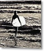 Surfer Girl Metal Print by Scott Allison