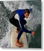 Surfer I Phone Case Metal Print