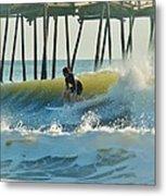 Surfer Sunrise 31 10/2 Metal Print