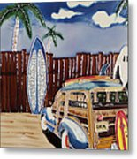 Surfers Dream Metal Print by Kip Krause