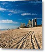Surfers Paradise Beach South Metal Print