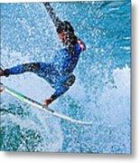 Surfing 2 Metal Print