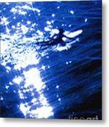 Surfing The Stars Metal Print