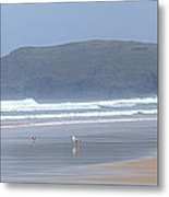 Surfing With A View Metal Print