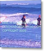 Surfs Up Metal Print