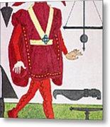 Surgeon, 14th Century Metal Print
