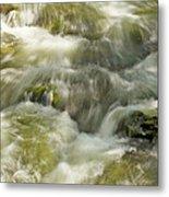 Surging Water Metal Print