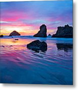 Surprise Sunset Metal Print