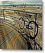 Surreal Boardwalk  Metal Print