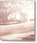 Surreal Dreamy South Carolina Ocean Beach Nature Metal Print by Kathy Fornal