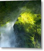 Surrounded By Mist Metal Print