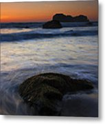 Surrounded By The Tide Metal Print