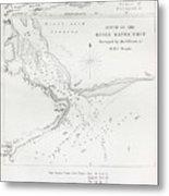 Survey Of The Santa Cruz River Metal Print