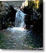 Susan Creek Falls Series 4 Metal Print