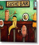 Sushi Bar Improved Image Metal Print