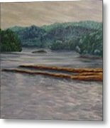 Susquehanna River At Saginaw Pa Metal Print