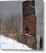 Sutherland Chimney In Winter Number One Metal Print