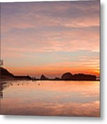 Sutro Baths Metal Print