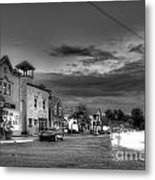 Sutton's Bay In Black And White Metal Print