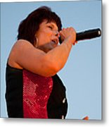Suzanne Fox Of The Fabulous Kingpins Metal Print
