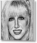 Suzanne Somers In 1977 Metal Print
