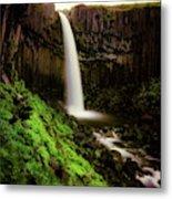 Svartifoss Waterfall, Skaftafell Metal Print
