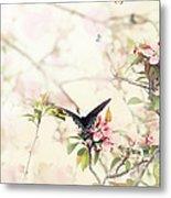Swallowtail In Spring Metal Print