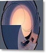 Swallowtail Lighthouse Fantash Metal Print