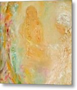 Swami Yogananda And Disciple Metal Print