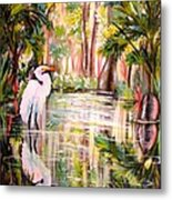 Swamp Angel Metal Print