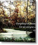 Swamp Beauty Metal Print