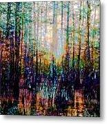 Swamp Colorfest Metal Print