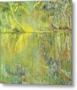Swamp Sun Metal Print